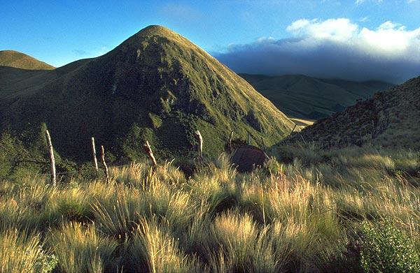 Loma Pilungo, travnatá čtyřtisícovka