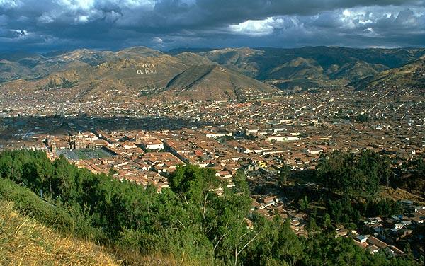 Cuzco - hlavní město Inků