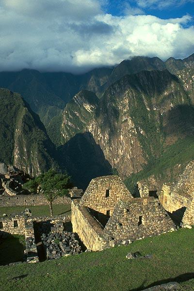 Inkovský dům z Machu Picchu