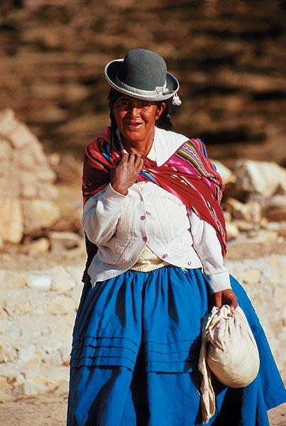 Buřinka - bolivijská móda