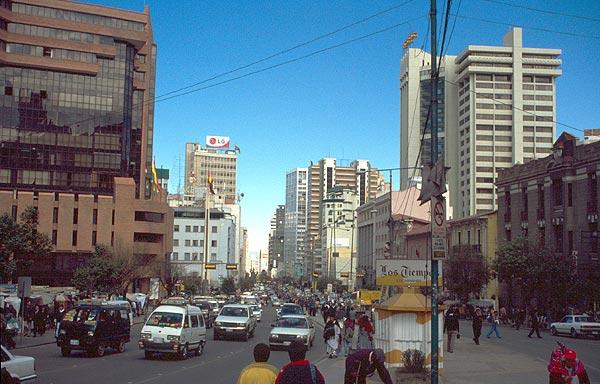 Avenida Mariscal Santa Cruz