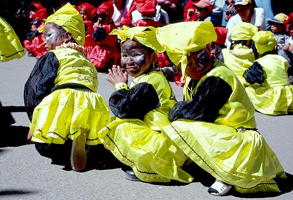 Dětský karneval v Potosí