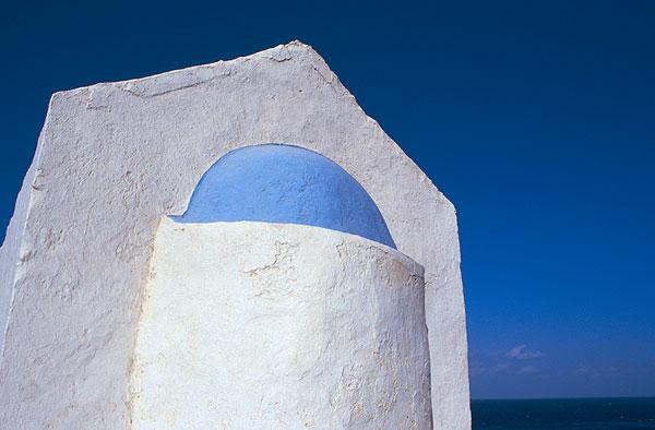 Řecko - modrá a bílá