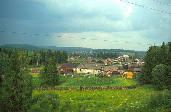 Vesnička na Urale