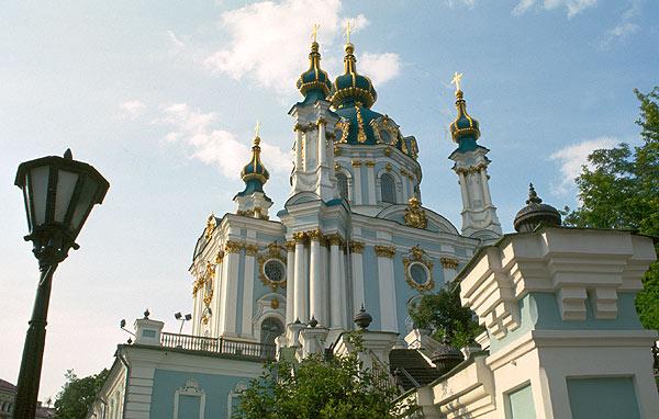 Kostel svatého Andreje, Kyjev