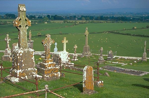 Hřbitov na Rock of Cashel