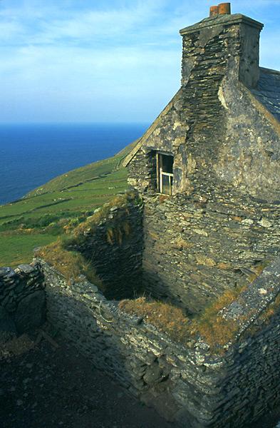Kamenný dům na západě Irska