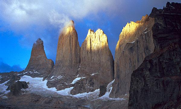 Skalní věže Torres del Paine