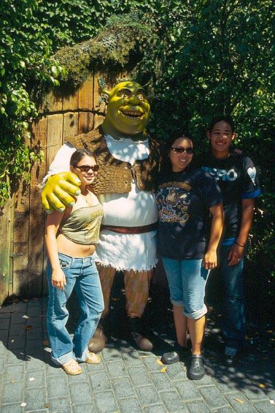 Shrek se fotografuje