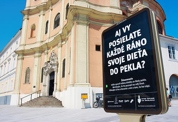 Před kostelem Trinitárov, Župné námestie