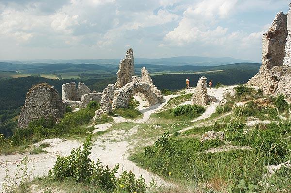 Zříceniny Čachtického hradu