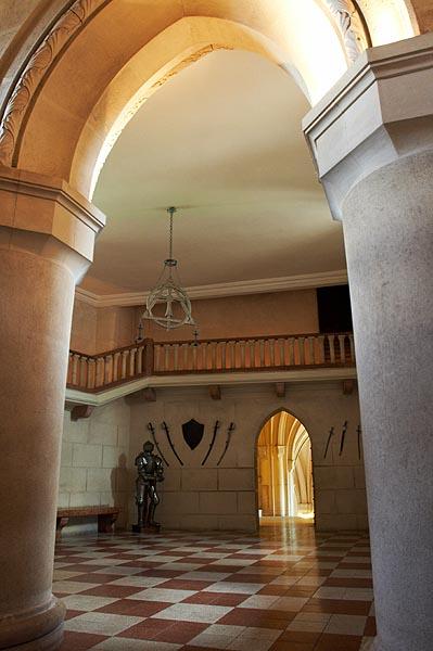 Rytířský sál ve Středním hradu