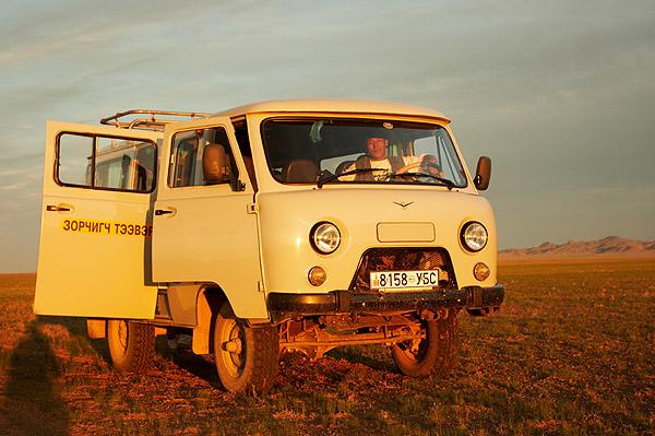 Ruské terénní auto UAZ