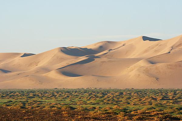 Písečné duny Chongoryn Els
