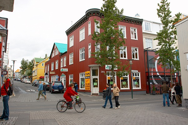 Reykjavík, centrum města