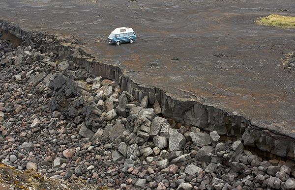 Island končí, poloostrov Reykjanes