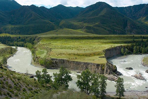 Peřej Turbína, řeka Čuja