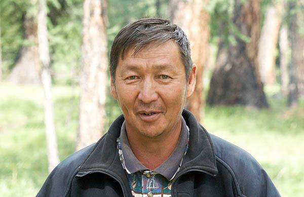 Muž z horského Altaje