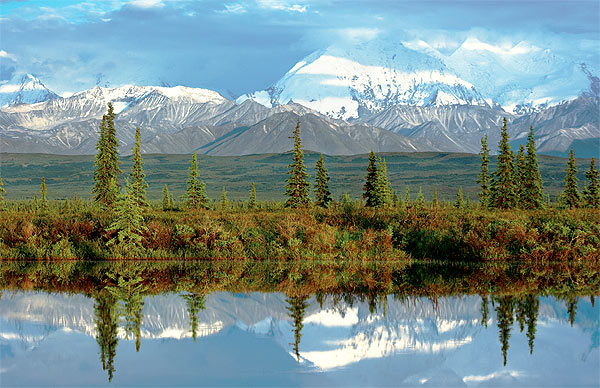 NP Denali, Alaska Range