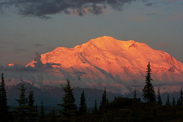 Vrchol Mount McKinley