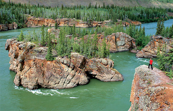 Peřeje Five Finger Rapids