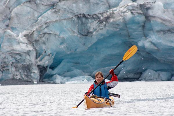 Na kajaku u ledovce