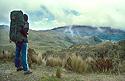 Turista v jihoamerických Andách