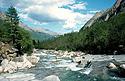Řeka Střední Sakukan
