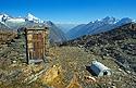 Tábor alpinistů u Gandegg Hütte