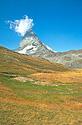 Matterhorn s mrakem