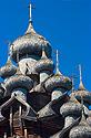 Kiži - střecha chrámu Proměnění Páně