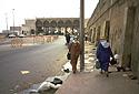 Hraniční přechod do Maroka v Ceutě