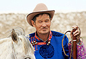 Portrét mongolského pastevce