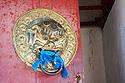 Dveře do tibetského buddhistického chrámu