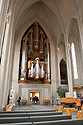 Varhany v kostele Hallgrímskirkja