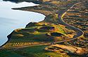Pseudokrátery na břehu Mývatnu