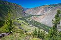 Hluboké údolí řeky Čulyšman
