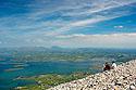 Výhled z hory Svatého Patrika