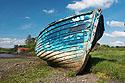 Starý rybářský člun
