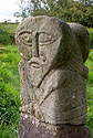 Janus Stone, pohanská socha