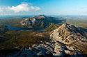Výhled z vrcholku Mount Errigal