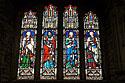 Čtyři evangelisté, vitráže