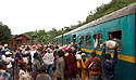 Jediný madagaskarský vlak