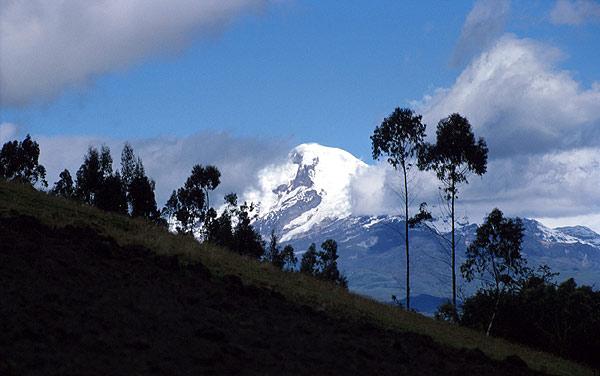Sopka Cayambe, Ekvádor