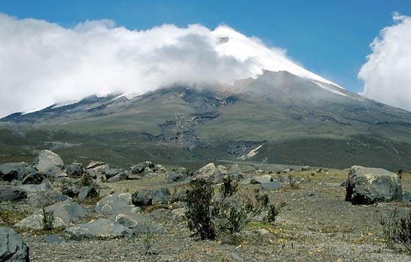 Cotopaxi, činná sopka