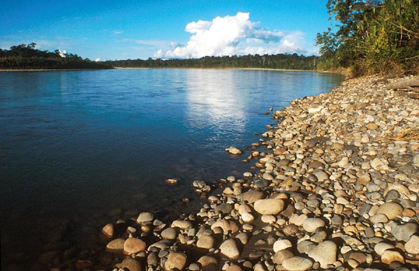 Rio Napo, povodí Amazonky