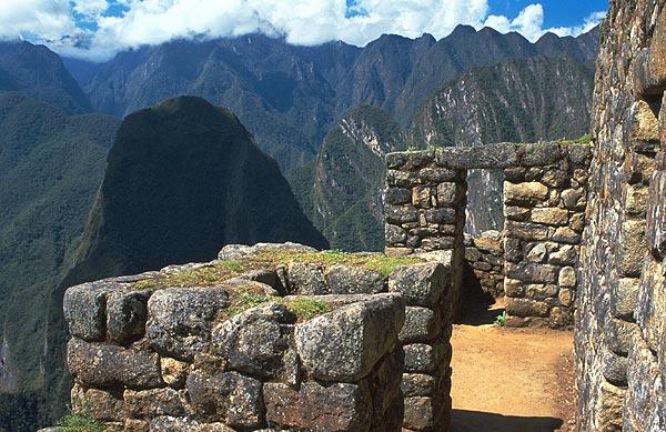 V ruinách Machu Picchu