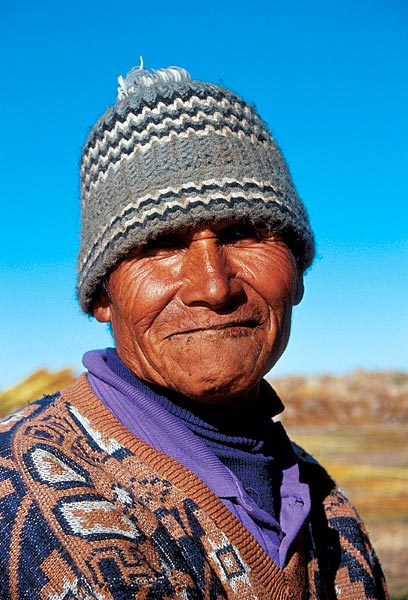 Indián v kulichu