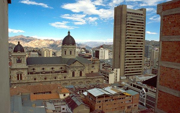 Katedrála v La Pazu