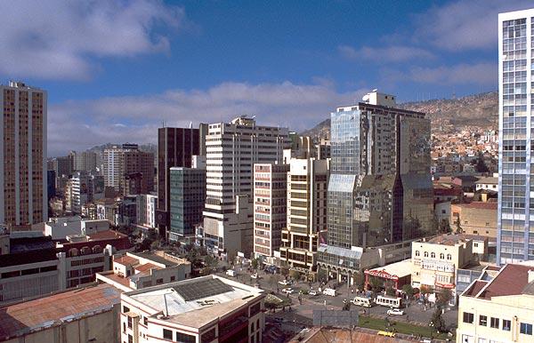 La Paz, nejvýše položené hlavní město světa